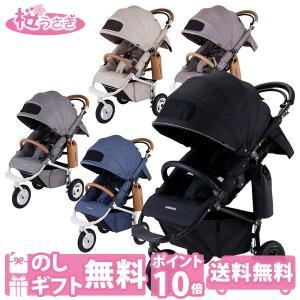 ベビーカー バギー 新生児 A型 エアバギー ココブレーキ EX フロムバース COCO BRAKE FROM BIRTH ヘッドサポート付|sakurausagi