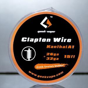 GeekVape Clapton Wire [クラプトンワイヤー]KantalA1 26G+32G 15FT