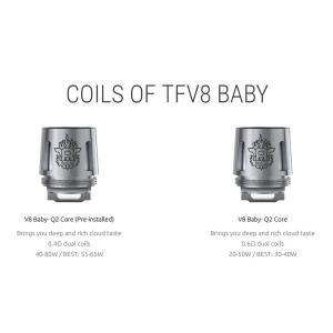 SMOK TFV8 BABY Qシリーズ交換用コイル 5個入り|sakuravapor