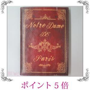 卓上鏡 ミラー ブック型 ノートルダム レトロ アンティーク調 クラシック おしゃれ 雑貨 sakuraworks
