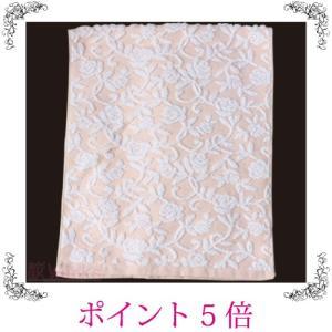 フェイスタオル ローズ バラ 薔薇 ピンク おしゃれ 雑貨|sakuraworks