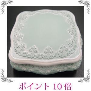 アクセサリーケース 小物入れ レトロ 緑 姫系 おしゃれ 雑貨|sakuraworks