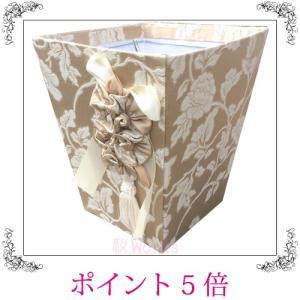 ゴミ箱 ダストボックス ジェニファーテイラー Heirloom リボン エレガント おしゃれ 雑貨|sakuraworks