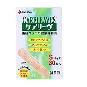 ニチバン  ケアリーブ Sサイズ 30枚  衛生医療品|sakusaku-d