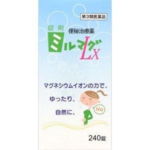 錠剤ミルマグLX  240錠|sakusaku-d