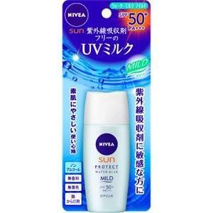 ニベアサン プロテクト ウォーターミルク マイルド SPF50+ 30ml |sakusaku-d