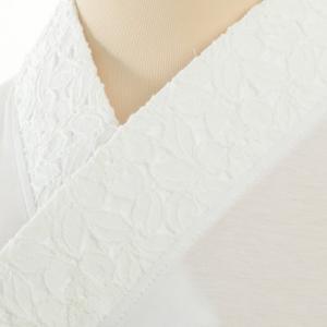 大きいサイズ3L Tシャツ半襦袢 ふぁんじゅ 椿レース 簡単に美しい衿元 本体綿100% 女性用  白/生成/黒 日本製|sakusaku-plus