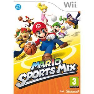 Wii マリオスポーツミックス ケース、取説付きです...