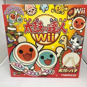 太鼓の達人Wii (専用太鼓コントローラ「太鼓とバチ」同梱)  【商品内容】  箱、内箱付き、太鼓の...