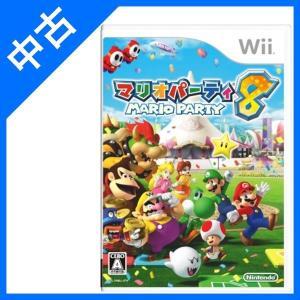 マリオパーティ8 ソフト Wii ニンテンドー   Nintendo 任天堂  中古 ケース