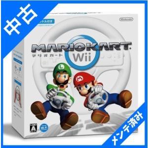 マリオカートWii/ ゲーム  ソフト ハンドル  箱付き
