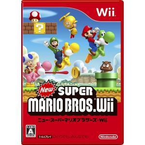 New スーパーマリオブラザーズ Wii (通常版) 任天堂 NINTENDO ケース 取説付|sakusaku3939