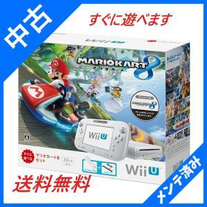 Wii U マリオカート8 セット シロ  モーションプラス...