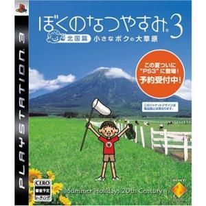 ぼくのなつやすみ3 -北国篇- 小さなボクの大草原 - PS3|sakusaku3939