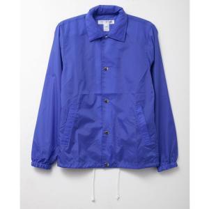 コムデギャルソン SHIRT ナイロン ジャケット アウター メンズ S24923B ブルー ジャケット メンズ ロゴ おしゃれ 半袖 オシャレ ブランド|salada-bowl