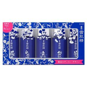 コーセー KOSE 薬用 雪肌精セット M5 化粧水 75mL×5本セット 限定 ディズニーデザイン...