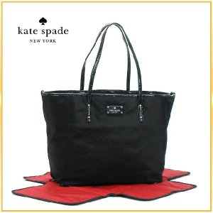 KATE SPADE ケイトスペード バッグ トートバッグ マザーズバッグ ブラック|salada-bowl