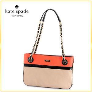 新作 Kate Spade(ケイトスペード)/バッグ/ レディース ショルダーバッグ セミショルダー 肩掛け チェーン レザー ベージュ オレンジ 花柄|salada-bowl