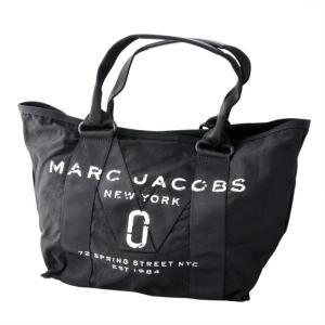 マークジェイコブス MARC JACOBS M0011222-001 ミリタリーロゴプリント トートバッグ スモール New Logo Tote Small Black ブラック|salada-bowl