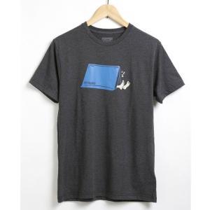 パタゴニア 半袖 Tシャツ メンズ オーガニックコットン アメカジ ブランド アウトドア ポリエステル おしゃれ プレゼント ギフト バレンタイン クリスマス|salada-bowl