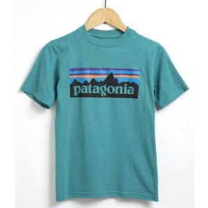 パタゴニア Tシャツ キッズ ボーイズ 子供用 メンズ アウトドアブランド 半袖 オーガニックコットン アメカジ ブランド アウトドア ポリエステル おしゃれ|salada-bowl
