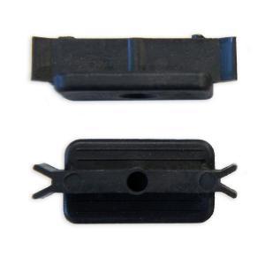 【連結クリップ】人工木ウッドデッキ設置用の連結クリップ厚さ25mm板専用・ベランダ テラス バルコニー造りに最適のウッドデッキ板 縁台 庭造り用