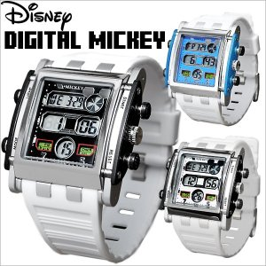 ミッキー 腕時計 ディズニー レディース メンズ ミッキーマウス 腕時計 デジタル ウォッチ Disney disney_y salon-de-kobe