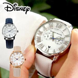 ディズニー ミッキー 腕時計 グッズ 本革 ベルト メンズ レディース ブランド ユニセックス ミッキーマウス 3D 立体 インデックス 時計 salon-de-kobe