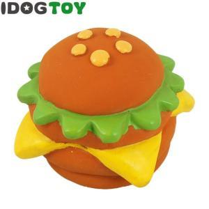 iDog&iCat オリジナル ラテックスTOY ビッグなハンバーガー salon-de-miel
