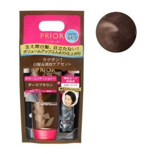 ☆限定品☆ 資生堂 shiseido prior プリオール カラーコンディショナー N 限定セット d ダークブラウン|salon-de-miel
