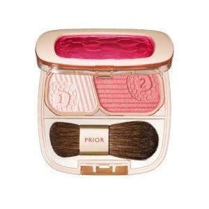 資生堂 shiseido prior 美リフトチーク レッド 【ネコポス対応商品】|salon-de-miel