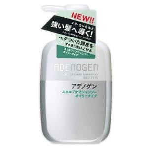 資生堂 shiseido アデノゲン スカルプケアシャンプー オイリータイプ 400ml|salon-de-miel