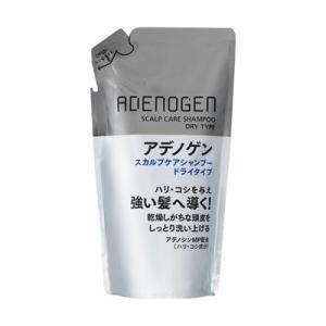 資生堂 shiseido アデノゲン スカルプケアシャンプー ドライタイプ 詰め替え用 310ml|salon-de-miel