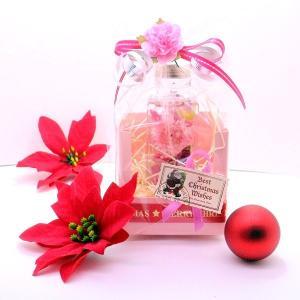 フラワーハーバリウム  四角瓶ヘリクリサム入りアレンジ  敬老の日 母の日 誕生日ギフト 記念日