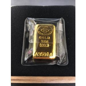 純金 インゴット 井島貴金属精錬(株) K24 24金 100g ゴールドバー INGOT