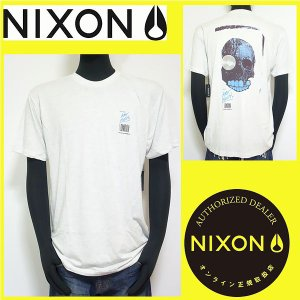 Tシャツ メンズ NIXON ニクソン サーフ系 グレー Mサイズ S15151137