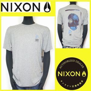 Tシャツ メンズ NIXON ニクソン サーフ系 ダークグレー Mサイズ S1515686