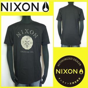 Tシャツ メンズ NIXON ニクソン サーフ系 ブラック Mサイズ S1529017