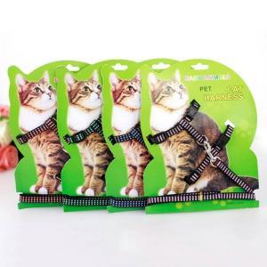 猫ハーネス 猫用リード 猫用品 猫リード 猫ハーネス&リード|sam-store