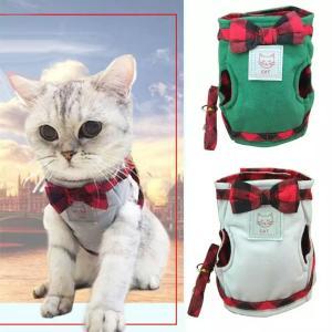 猫ハーネス 猫リード 猫服 サイズXL(4.5〜6.5kg) 送料無料|sam-store