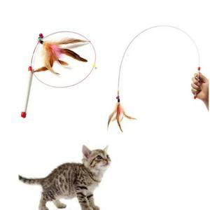猫じゃらし ねこじゃらし 猫おもちゃ竿|sam-store