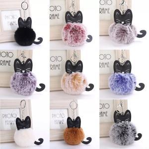 猫キーホルダー 猫のキーホルダー キャットホルダー 可愛いふわふわキーホルダー選べる9種類 sam-store