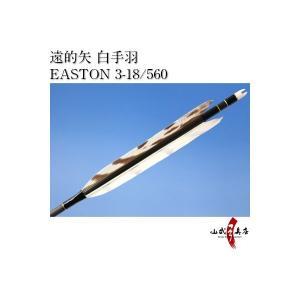 遠的矢 白手羽 EASTON 3-18/560 6本組【D-1086】 sambu
