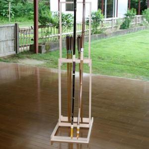 弓立て 折り畳み式 軽量 弓道 弓具 弓道用品 I-080