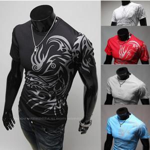 ポロシャツ Tシャツ メンズTシャツ Tシャツ メンズ 半袖...
