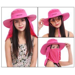 UVカット 紫外線対策用ハット 帽子 メンズ レディース 釣...