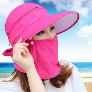 UVカット帽子 紫外線対策用ハット レディース キャンプ・ア...