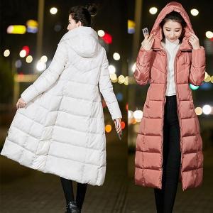 ロングダウンコート ダウンコート ロング レディース ダウンジャケット ロングコート  アウター 中綿 大きいサイズ 秋冬 軽量
