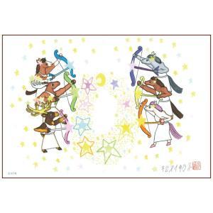 絵画 かわいい インテリア アート 愉快な動物たち10(マグネアクリ) 150x200mm|samipri
