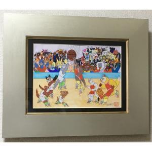 松元伸乃介 氏 原画 オリンピック2020(バスケット)|samipri